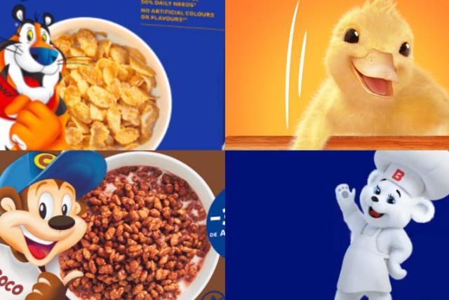 retirar los personajes animados de las marcas